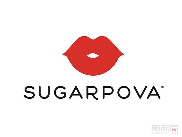 SUGARPOVA莎拉波娃糖果品牌标志logo