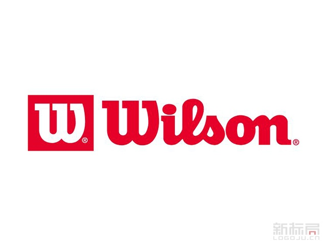 wilson威尔胜运动品牌标志logo