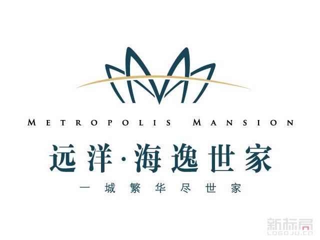 远洋海逸世家楼盘标志logo设计
