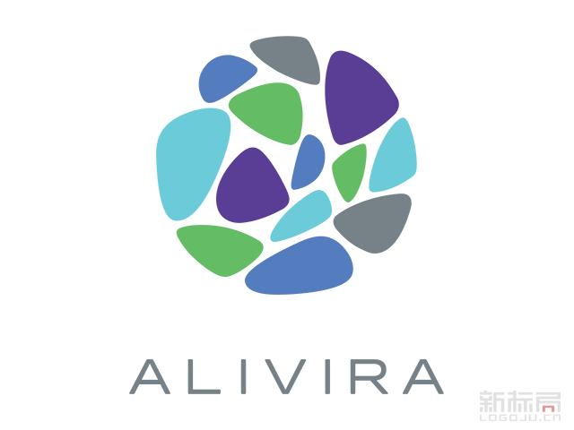 ALIVIRA动物保健药品公司标志logo