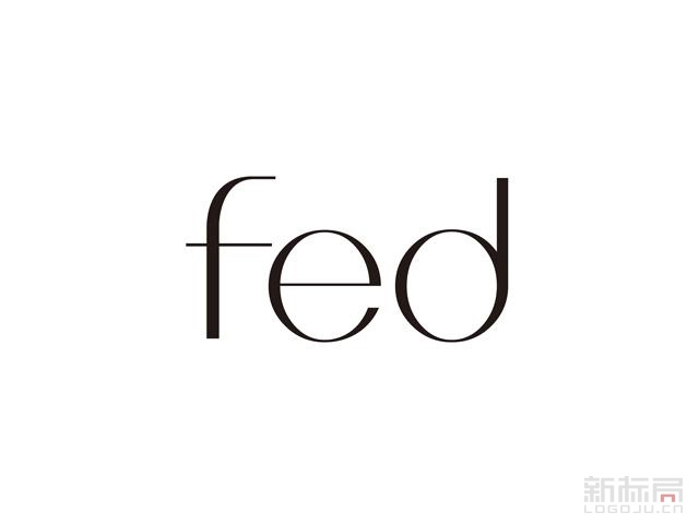 FED女鞋品牌标志logo