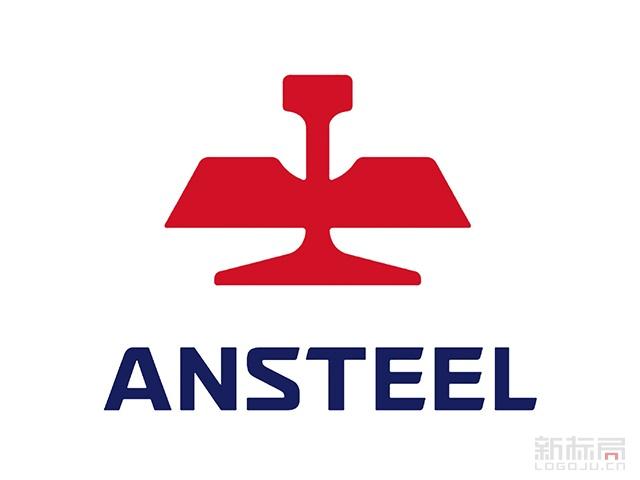 ANSTEEL鞍钢集团标志logo