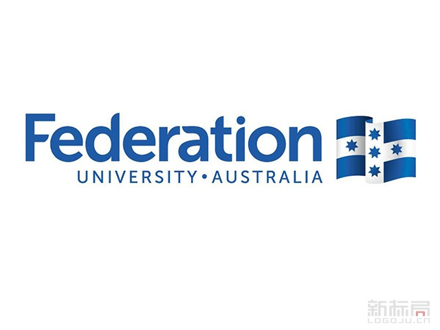 Federation university australia澳大利亚联邦大学标志logo校徽
