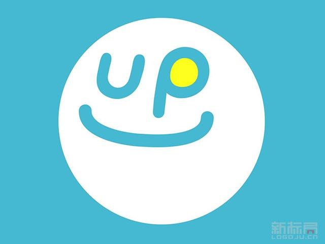 UP标志logo