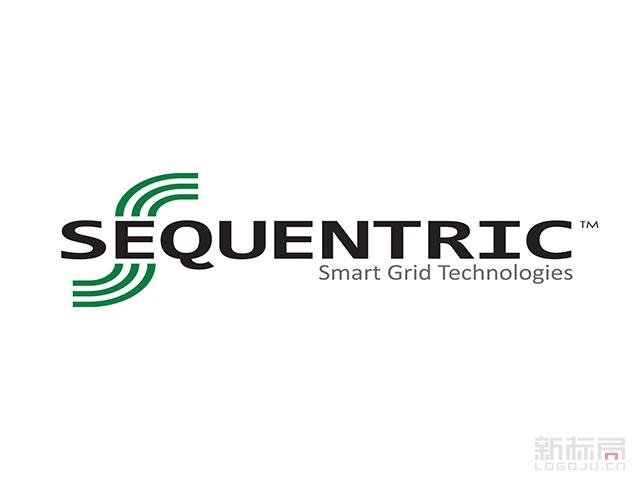 SEQUENTRIC科技标志logo