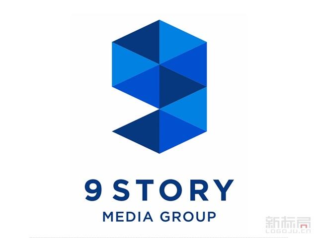 动画制作公司9story media group传媒集团标志logo