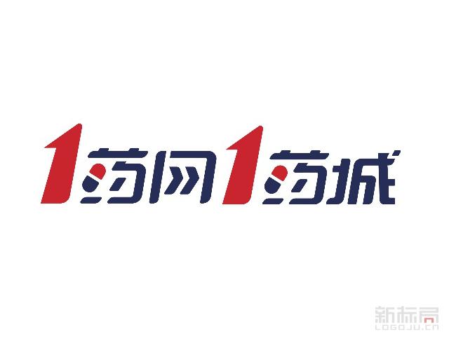 1药网在线购药网站标志logo