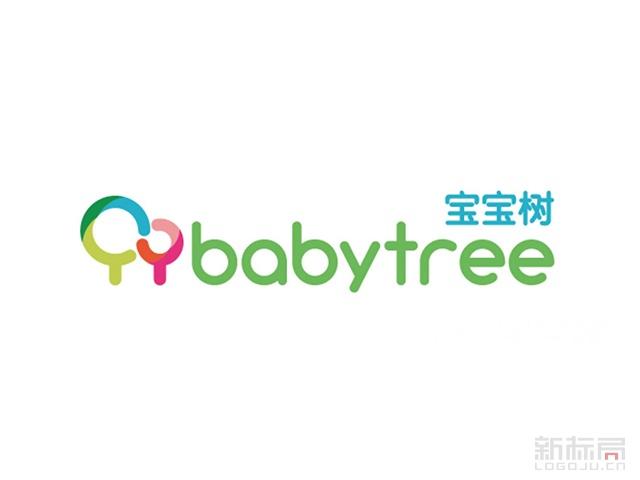 宝宝树育儿平台标志logo
