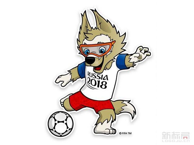 俄罗斯世界杯吉祥物-扎比瓦卡