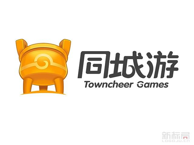 同城游网络棋牌游戏平台标志logo