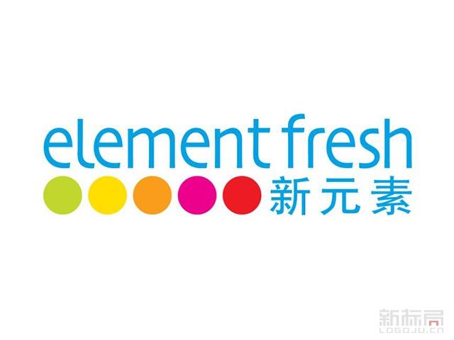 新元素餐厅标志logo