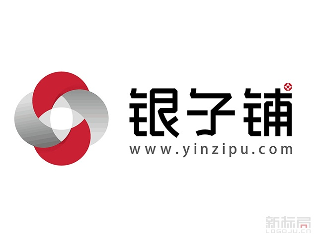 银子铺P2P网贷资讯平台标志logo