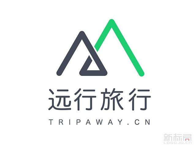 远行旅行标志logo