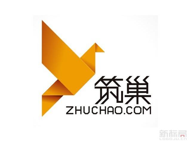 筑巢建材家居标志logo