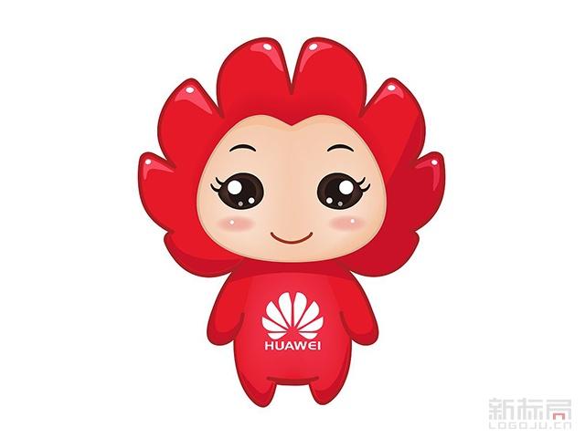 华为huawei卡通吉祥物