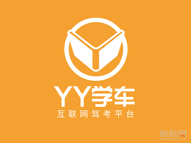 YY学车互联网驾考平台标志logo