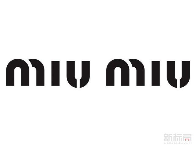 MIUMIU缪缪服装品牌标志logo