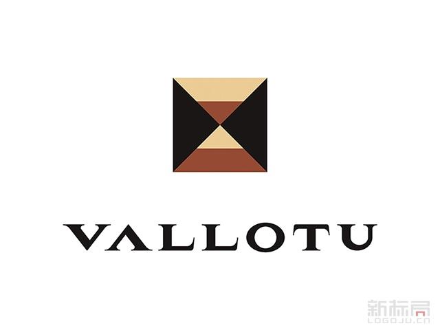 VALLOTU咖啡标志logo