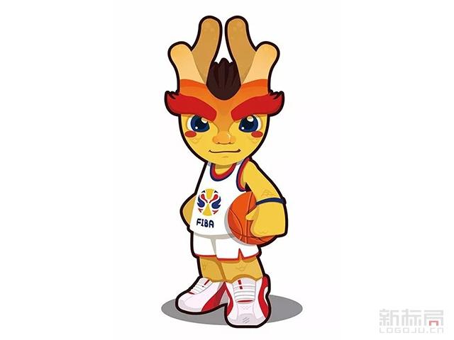 """2019篮球世界杯吉祥物""""梦之子"""""""