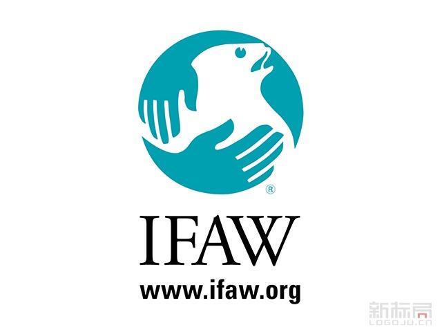 国际爱护动物基金会IFAW标志logo