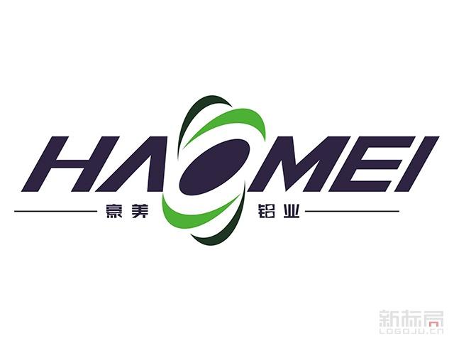 豪美铝业标志logo