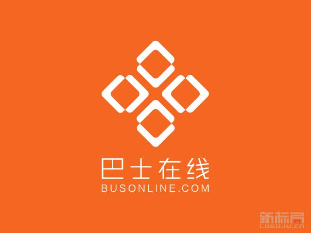 巴士在线互联网媒体集团标志logo