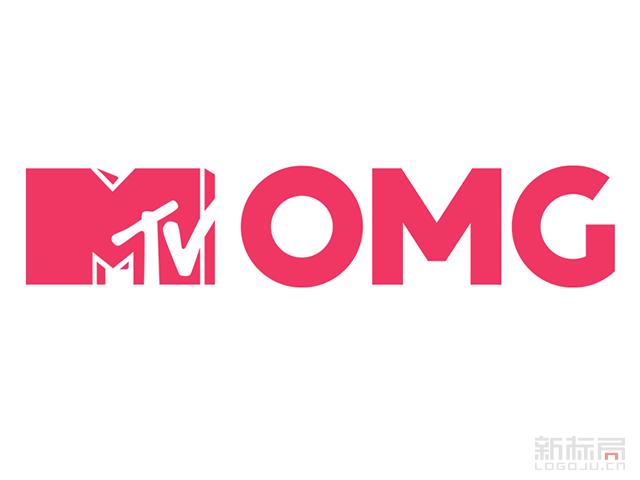 MTV OMG英国付费电视音乐频道标志logo