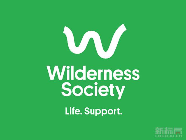 公益组织Wilderness Society标志logo