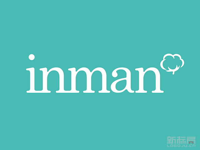 电商女装品牌茵曼INMAN新标志logo