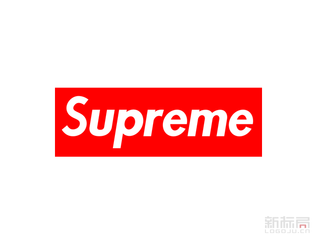 美国街头服饰品牌superme潮牌标志logo
