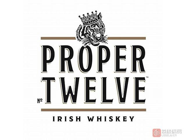 ufc嘴炮康纳-麦克格雷格Conor McGregor威士忌酒水品牌proper NO TWELVE标志logo