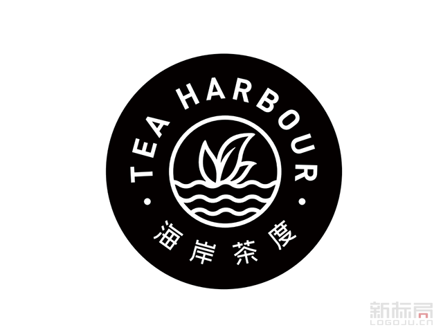 海岸茶度茶饮标志logo