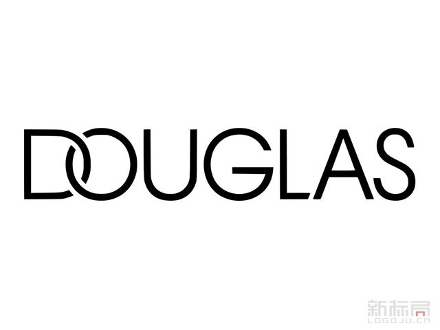 化妆品连锁公司DOUGLLAS标志logo