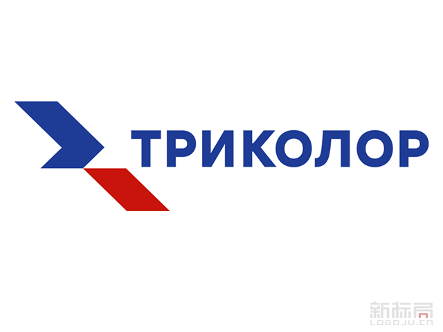 俄罗斯最大数字电视运营商Tricolor TV标志logo