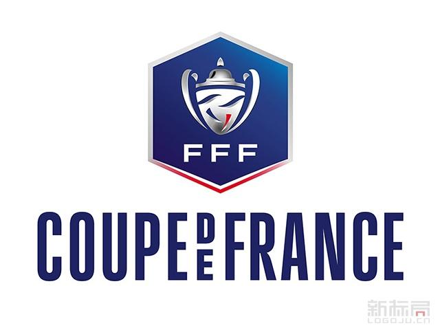 法国杯(Coupe de France)足球竞赛标志logo