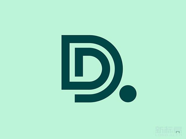 底特律市交通部DDOT标志logo