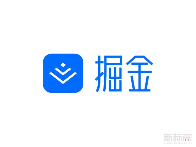 掘金开发者成长社区标志logo