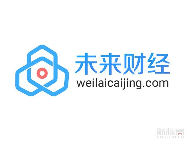区块链垂直网络媒体平台-未来财经标志logo
