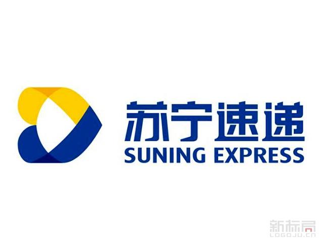 苏宁速递标志logo
