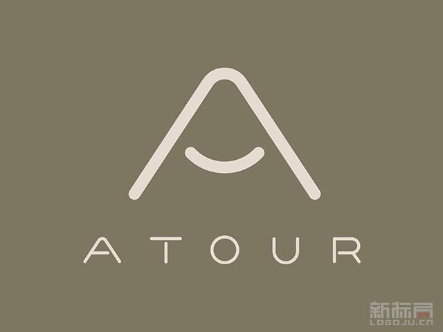 亚朵酒店atour标志logo