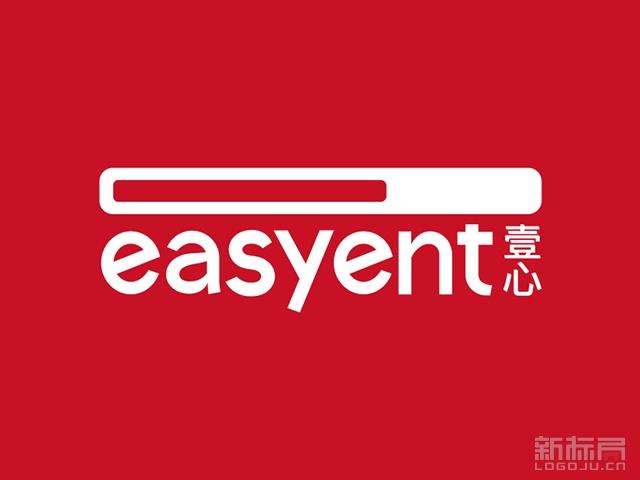 壹心娱乐标志logo