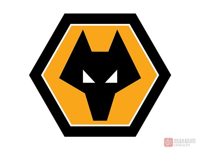 英超狼队足球俱乐部队徽标志logo