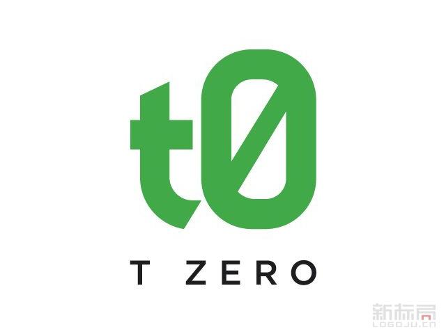 Tzero分布式记账平台标志logo