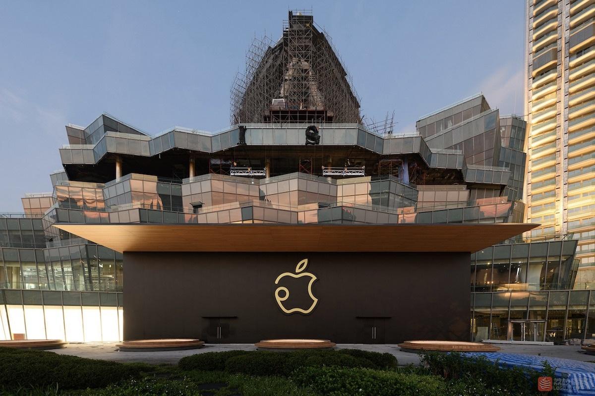 泰国苹果直营零售店Apple ICONSIAM标志logo