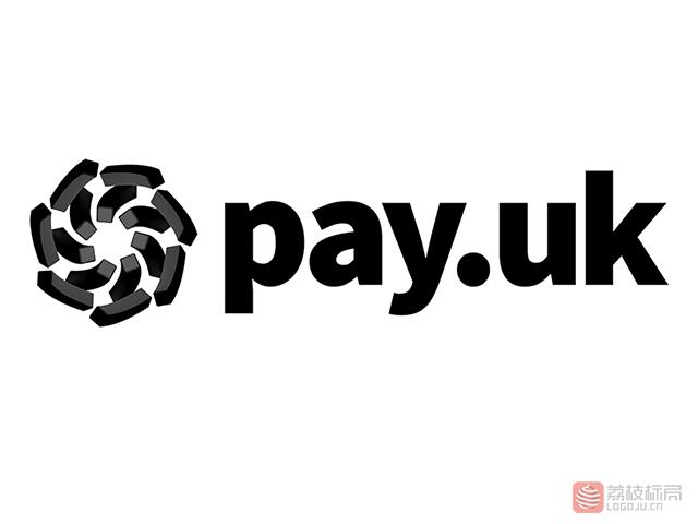 英国在线支付平台Pay.UK标志logo