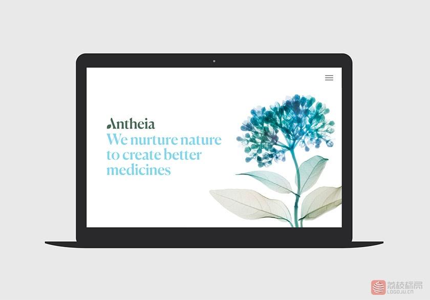 生物技术公司Antheia标志logo