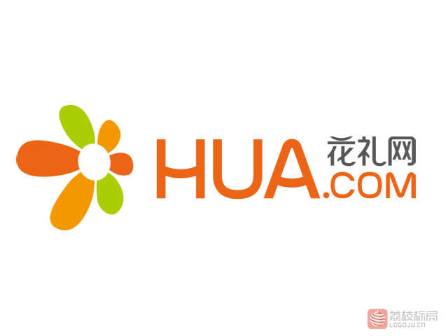 花礼网hua.com标志logo