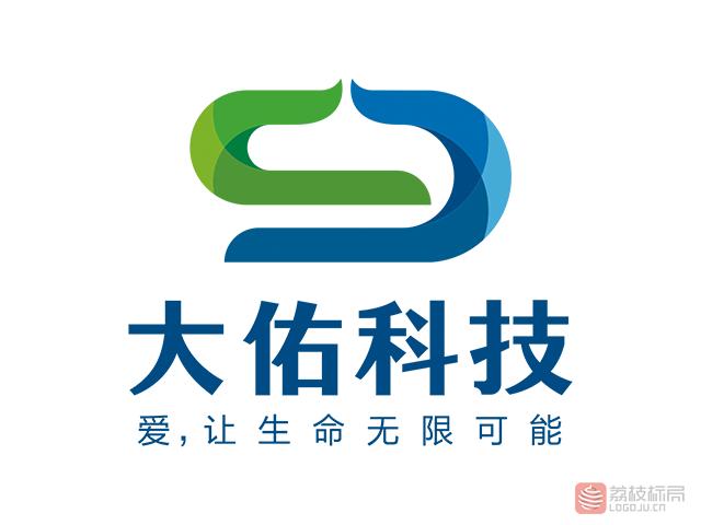 大佑科技标志logo