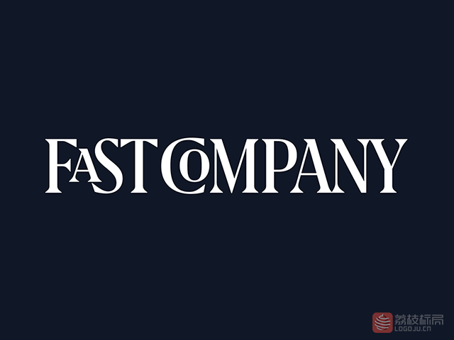 美国著名商业杂志Fast Company快公司新标志logo