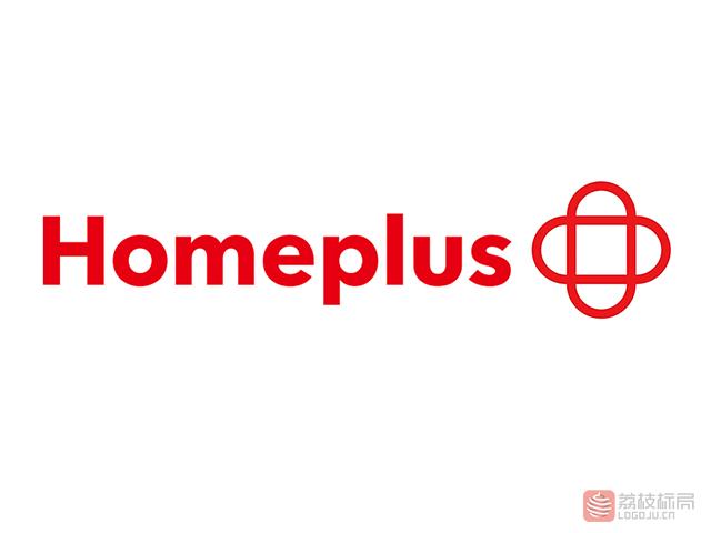 韩国知名连锁超市Home Plus新标志logo
